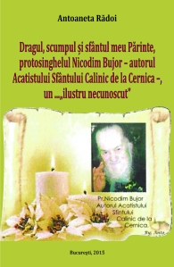 Coperta carte Parintele Nicodim Bujor