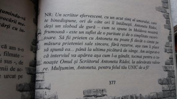George Stroia despre Anto